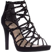 B35 Brooke2 Platform Dress Sandals, Black