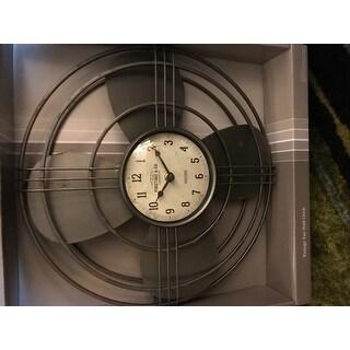 FirsTime & Co.® Vintage Fan Wall Clock