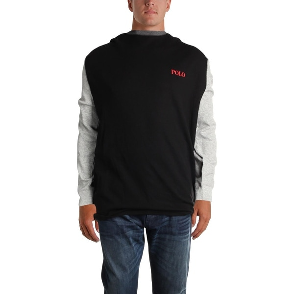 bd306b76 Shop Polo Ralph Lauren Mens Big & Tall Thermal Shirt Waffle-Knit Colorblock  - 4XT - Free Shipping On Orders Over $45 - Overstock - 27172243