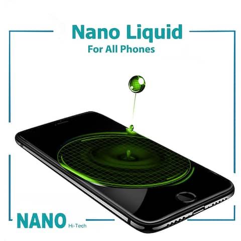 Original Nano Liquid Screen Protector for All Smartphones, Tablets, Watches, Glasses, Cameras