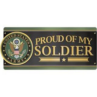 U.S. Army- Proud Of My Soldier - Car Magnet