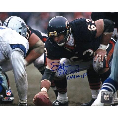 Jay Hilgenberg Chicago Bears 8x10 Photo wSB XX Champs