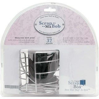 Scrap-Ma-Bob Clamp-On-Holder For Cup & Bag-