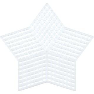 "Plastic Canvas Shapes 7 Count 3.25"" 10/Pkg-Stars Clear"