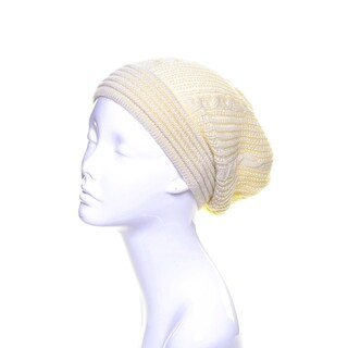 Aran Knit Winter Beanie Hat