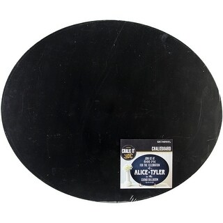 """Chalk It Now Chalkboard 14""""X17""""-Large Oval"""