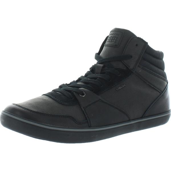 geox respira black shoes