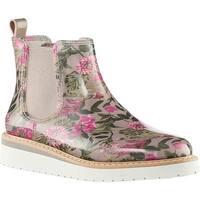 Cougar Women's Kensington Waterproof Chelsea Boot Tropical Floral Rubber