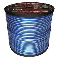 Cobalt Orion Speaker Wire 16 Gauge Blue/Clear 1000ft