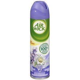 Air Wick Aerosol Spray Air Freshener, Lavender and Chamomile 8 oz