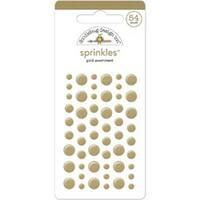 Gold Dots 54/Pkg - Sprinkles Self-Adhesive Glossy Enamel Embellishments