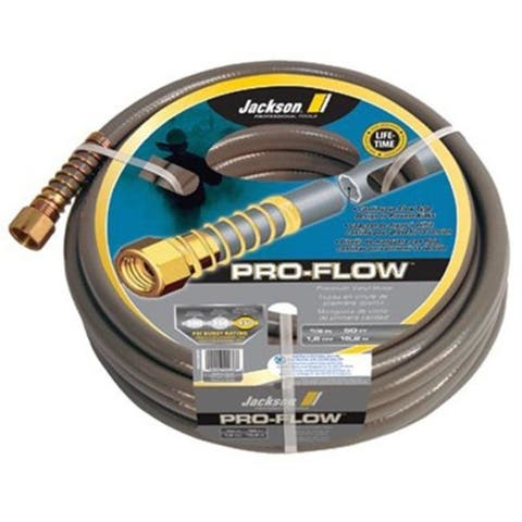 Jackson Professional Tools 027-4003600 5-8 Inchx50' Pro-Flow Commercial Duty Gray Hose