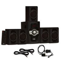 Acoustic Audio AA5240 Bluetooth 5.1 Speaker System Optical Input & 2 Ext. Cables