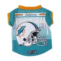 Miami Dolphins Pet Performance Tee Shirt Size XL