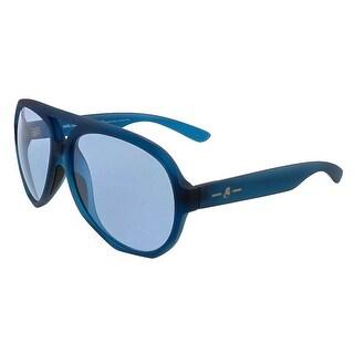Karl Lagerfeld KL001/S 425 Matte Dark Blue Aviator Sunglasses