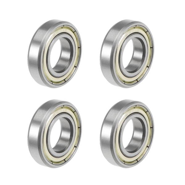 6901ZZ Deep Groove Ball Bearings Z2 12x24x6mm Double Shielded Carbon Steel 4pcs