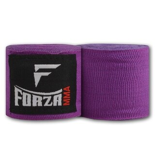 """Forza MMA 120"""" Mexican Style Boxing Handwraps - Purple"""
