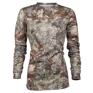 King's Camo Ladies Hunter Series Long Sleeve Shirt Desert Shadow - Camouflage