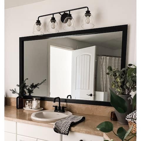 Meade Black Framed Mirror