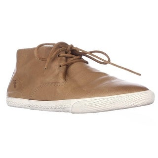 FRYE Mindy Chukka High-Top Sneakers - Camel