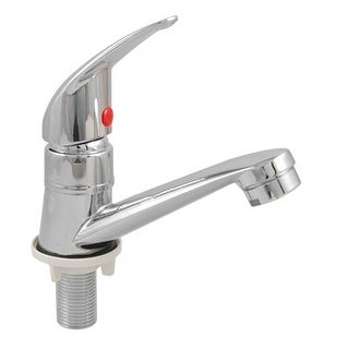 Unique Bargains Kitchen Basin Sink Filtering Net Faucet Solid Brass Water Tap