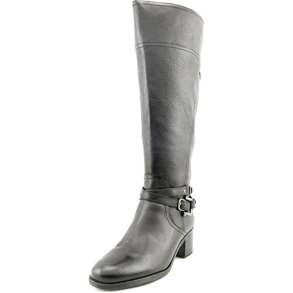 Marc Fisher Kacee Wide Calf Women Black Boots