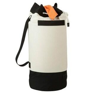 Honey-Can-Do LDY-03277 Heavy Duty Laundry Duffel w/ Strap & Zippered Pocket