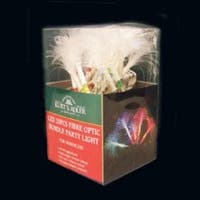 Set of 20 Multi-Color LED Fiber Optic Christmas Party Lights - multi