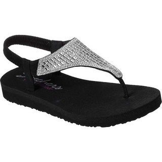 5db46a626 Shop Skechers Women s Meditation Rock Crown Thong Sandal Black Silver - On  Sale - Free Shipping On Orders Over  45 - Overstock - 19408539