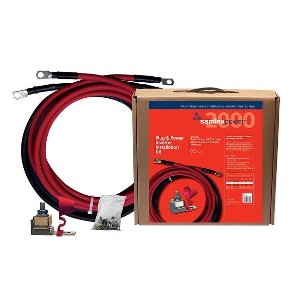 Samlex 200A Inverter Installation Kit f/2000W Inverter