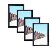 Glossy PVC Picture Frames 4x6 with PVC Lens (Set of 4) LB1619