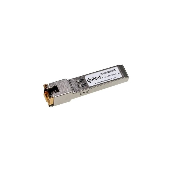 ENET MGBT1-ENC Linksys MGBT1 Compatible 10/100/1000BASE-T SFP 100m RJ45 Copper Cat5/Cat5e/Cat6 100% Tested Lifetime warranty and