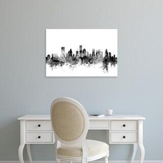 Easy Art Prints Michael Tompsett's 'Houston Texas Skyline' Premium Canvas Art