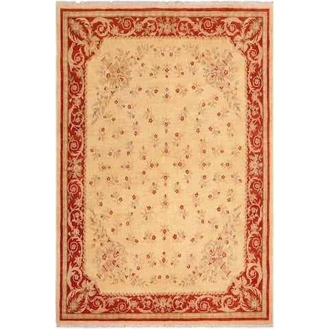 """Bohemien Ziegler Christi Hand Knotted Area Rug -8'0"""" x 10'2"""" - 8 ft. 0 in. X 10 ft. 2 in."""