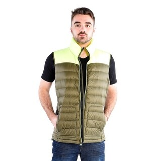Pajar Asher Vest in Green And Yellow