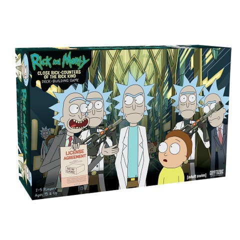 Rick & Morty Close Rick-Counters of the Rick Kind Deck-Building Game - Multi