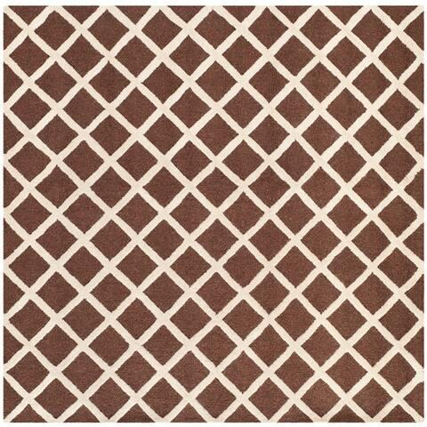 SAFAVIEH Handmade Cambridge Odile Moroccan Trellis Wool Rug
