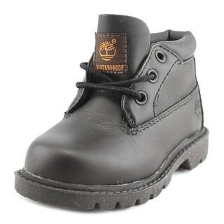 Timberland WP Chukka Boy Black Athletic Shoes
