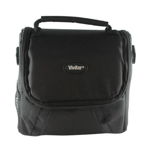 "Vivitar Coco Series Small Gadget Camera Bag - Polyester - 6"" x 4"" x 5.5"""