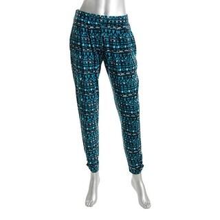 Material Girl Womens Juniors Leggings Jersey Printed