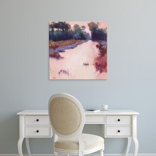 Easy Art Prints Madeline Dukes's 'Coral Dawn' Premium Canvas Art