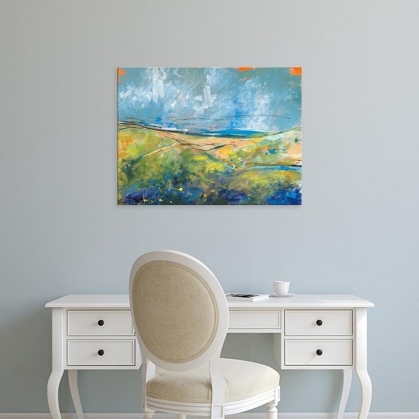Easy Art Prints Jan Weiss's 'Early Spring Days' Premium Canvas Art