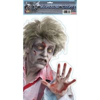 Peeping Zombie Window Cling Halloween Party Prop Decoration