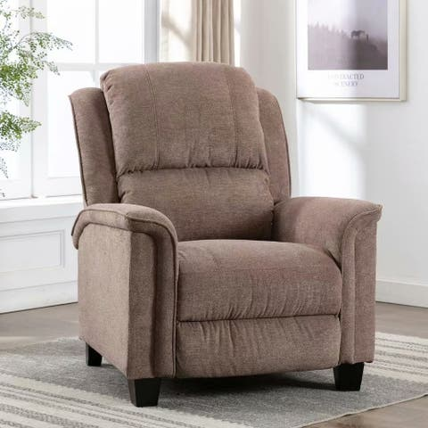 EBELLO-Manual Club Recliner for Home-living