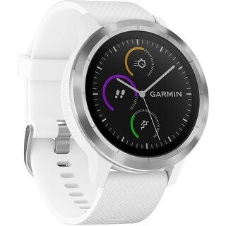 Garmin vivoactive 3 (White with Stainless Hardware) (2 options available)