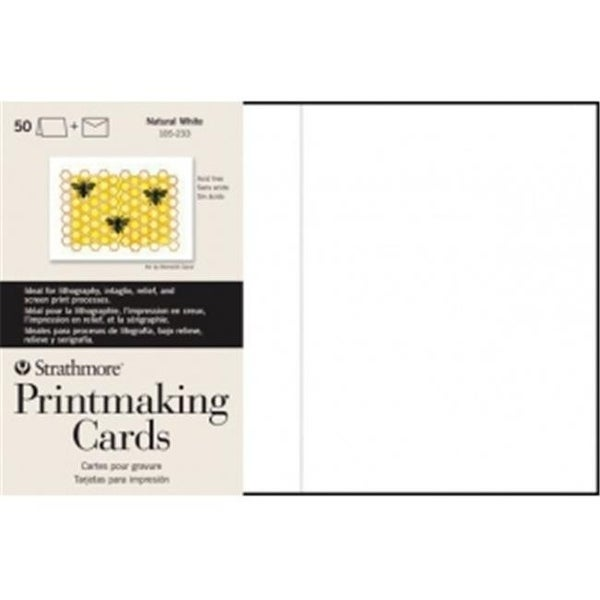 Shop Strathmore St105 633 Full Size Printmaking Cards Pack Of 100