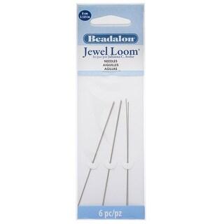 Beadalon, Jewel Loom Needles 3.125 / 8cm Long, 6 Pieces