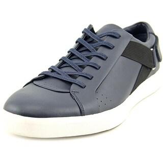 Calvin Klein Italo Men Leather Blue Fashion Sneakers