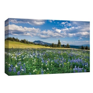 """PTM Images 9-153779  PTM Canvas Collection 8"""" x 10"""" - """"Trophy Meadows"""" Giclee Forests and Rural Art Print on Canvas"""