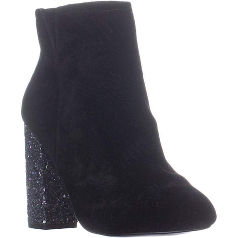 Call It Spring Womens Talcahuano-99 Velvet Closed Toe Ankle Fashion Boots